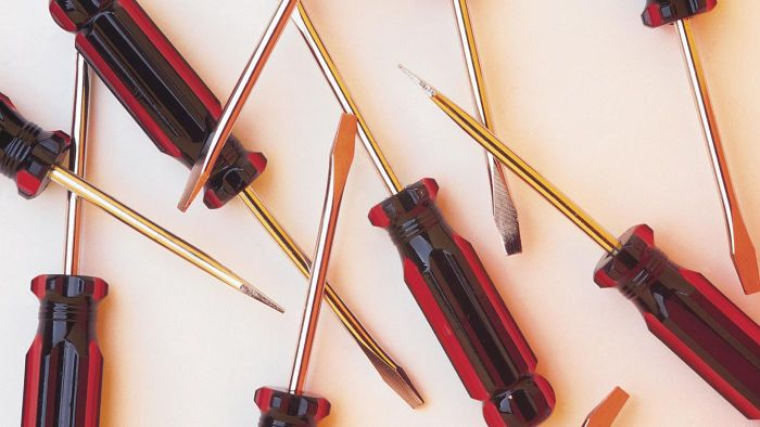 What is a flat-head screwdriver?