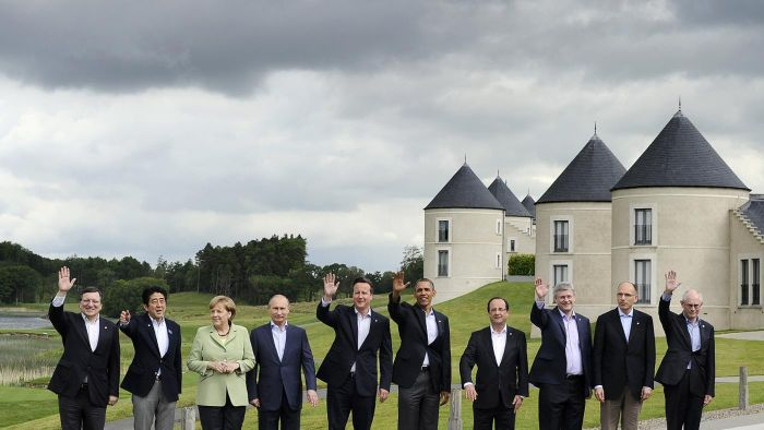 What Are the G8 Countries' Names?