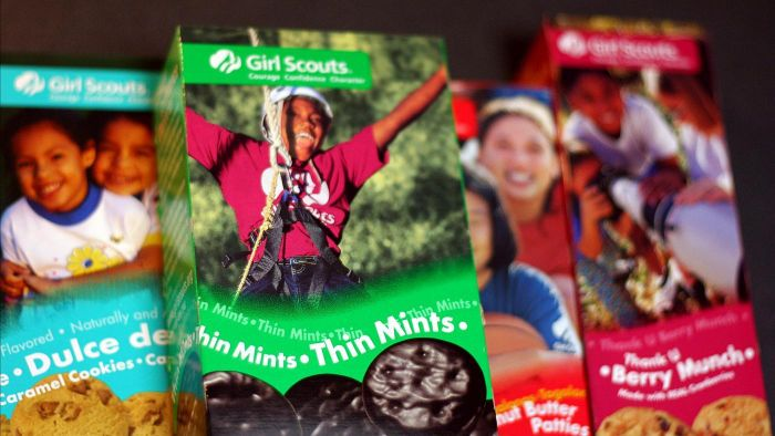 When Are Girl Scout Cookie Sales?