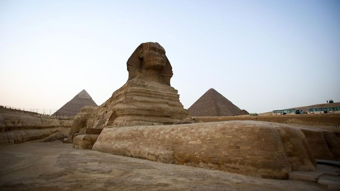 What Are Some Facts About the Great Sphinx of Giza?