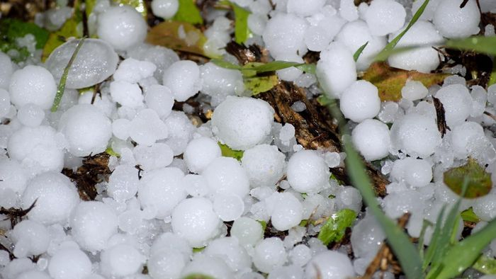 Where Do Hailstorms Usually Occur?