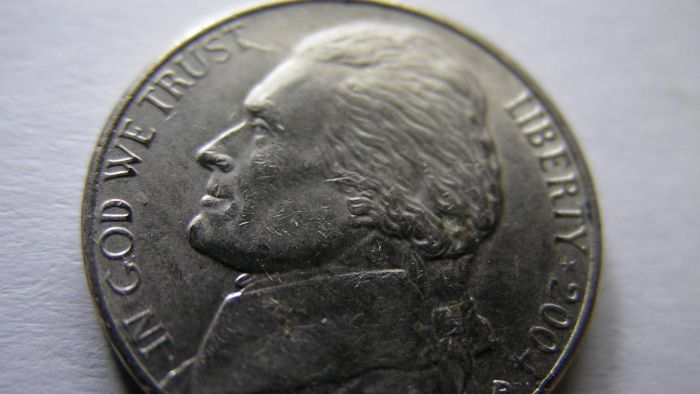 Whose head is on the nickel?