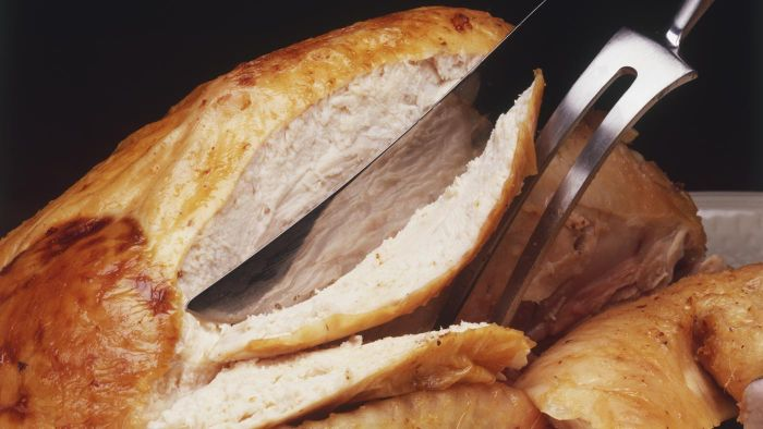 How do you heat a fully cooked turkey breast?
