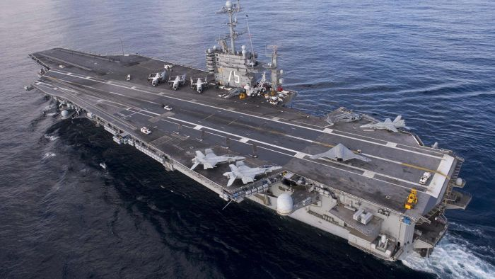What Is the Height and Width of an Aircraft Carrier?
