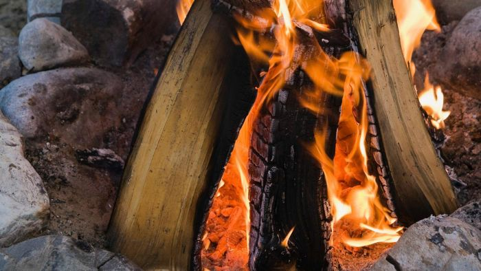 How Hot Is a Wood Fire?