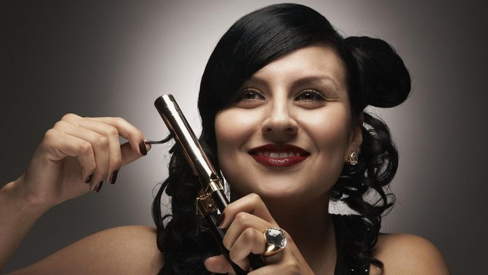 How do you take hairspray off of curling iron?