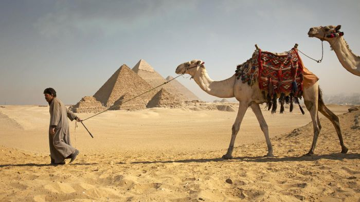 How many pyramids are there in Egypt?