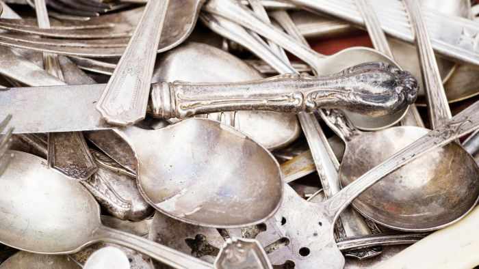 How Much Is Antique Silverware Worth?