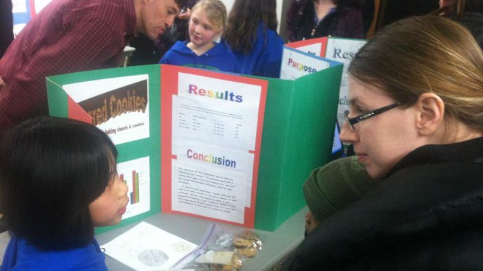 What are some ideas for an elementary school science project?