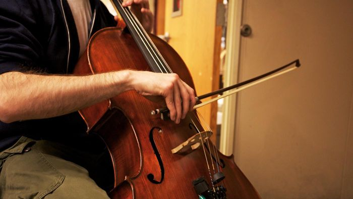 Who invented the first cello?