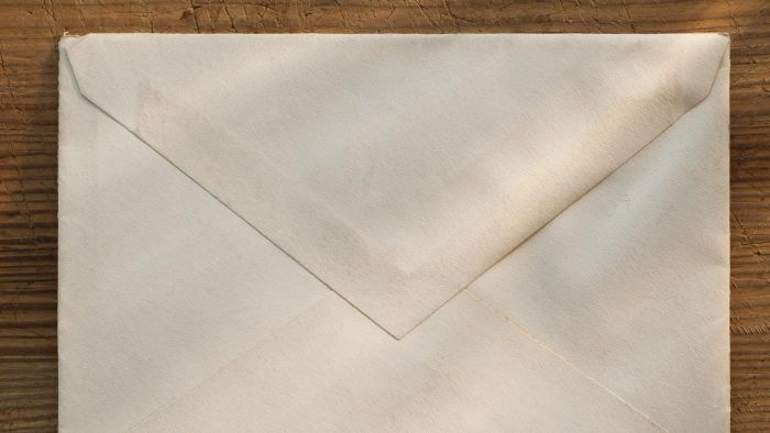 Who Invented the First Envelope?