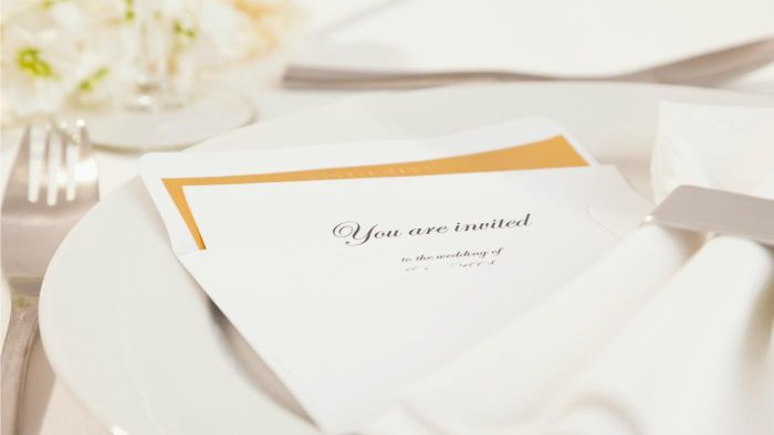 How Do You Invite Someone to Your Wedding?