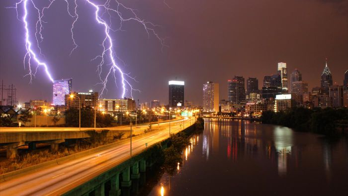 Are lightning and thunder the same thing?
