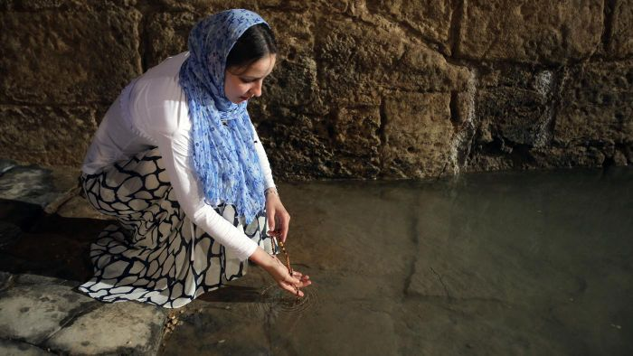 Where is the Jordan River located?