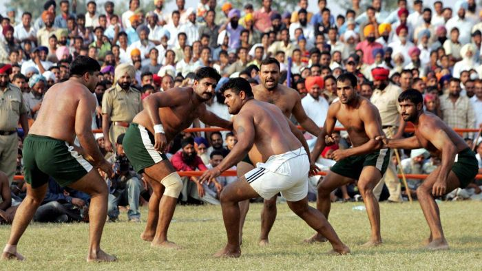 What is a Kabbadi player?