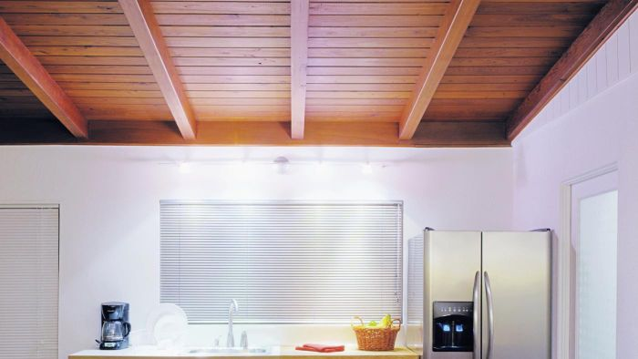 What are some kitchen ceiling ideas?