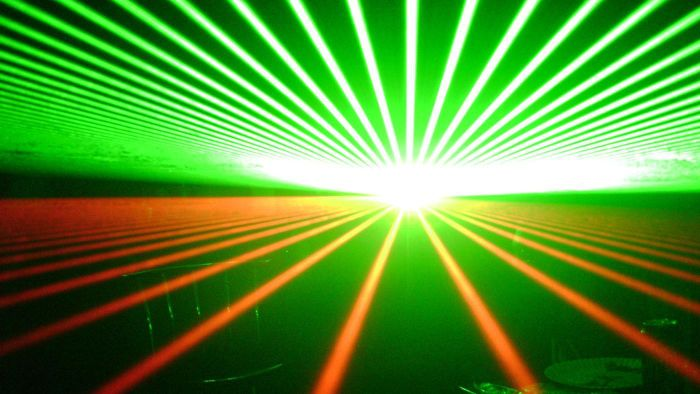 What is a laser beam?