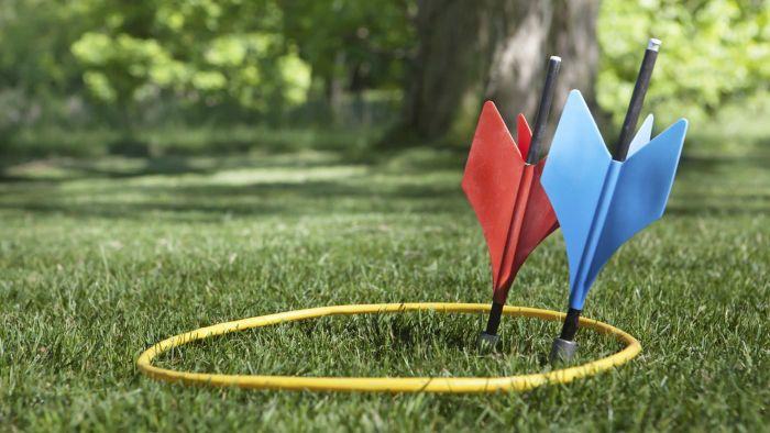 What are lawn darts?