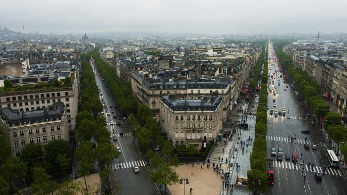 What Is the Length of the Champs-Elysees?