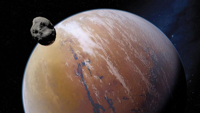 How Long Does It Take for Mars to Rotate on Its Axis?