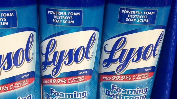 How does Lysol kill bacteria?
