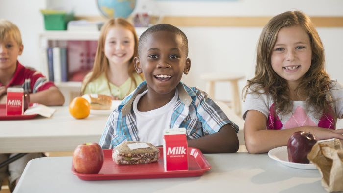 How Many Calories Are in a School Lunch?