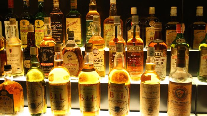 How many calories are in Scotch whisky?