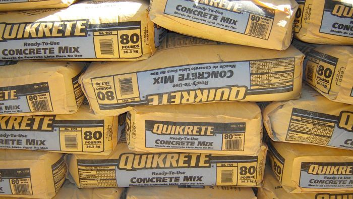 How Many Cubic Feet Are There in an 80-Pound Bag of Concrete?