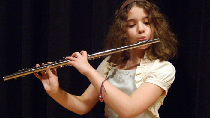 How many holes does a flute have?