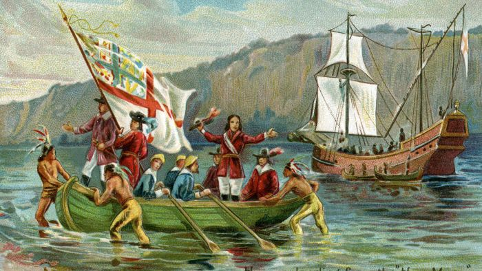 How many ships did Henry Hudson have?