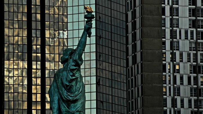 How many Statues of Liberty are there in the world?