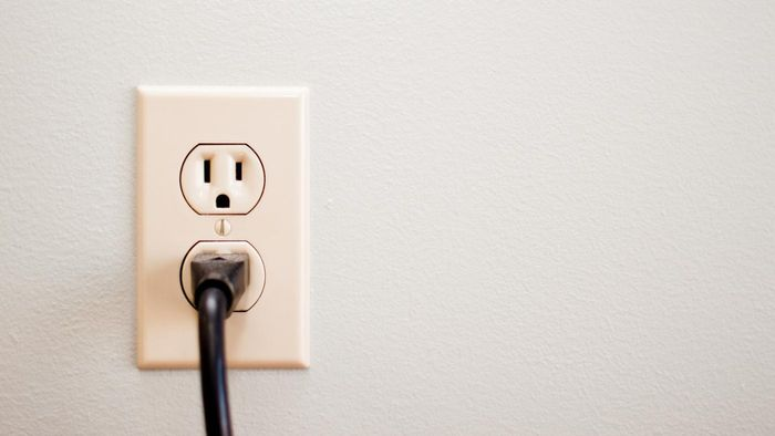 How many volts are in a wall outlet?