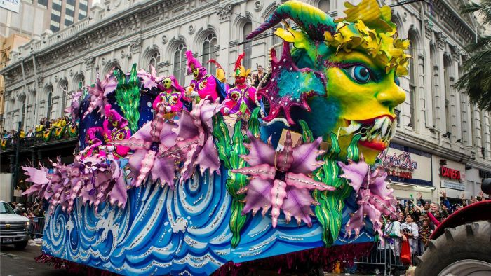 How Are Mardi Gras Parade Floats Made?