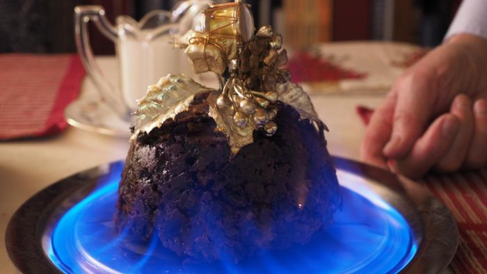 What Is the Meaning of Finding a Button in Your Christmas Pudding?