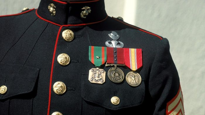 What Are the Military Ranks of the U.S. Marines in Descending Order?