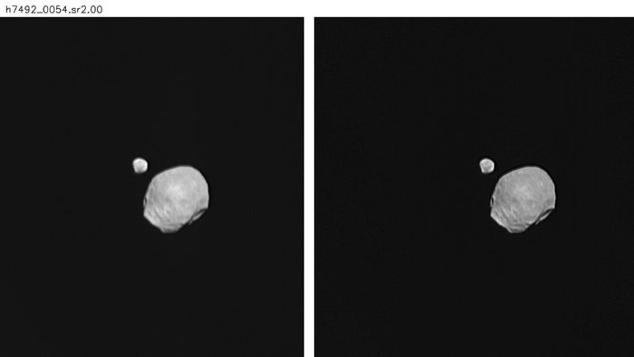 What Do the Moons That Circle Mars Look Like?