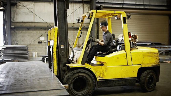 How much can a forklift weigh?