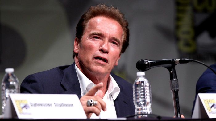 How much could Arnold Schwarzenegger bench press?