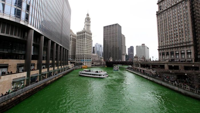 How Much Dye Does It Take to Turn the Chicago River Green?