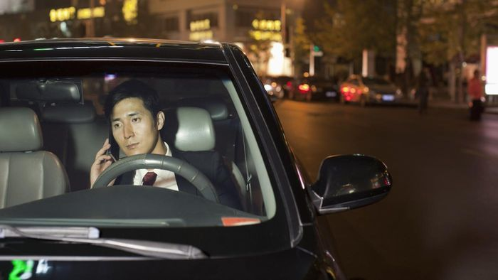 How much is the fine for being on a cell phone while driving?