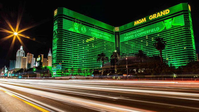 How Much Is the Monthly Electric Bill of the MGM Grand in Las Vegas?