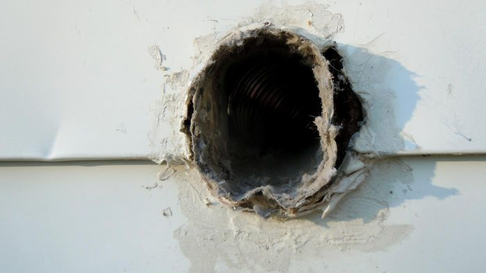 How much does replacing a dryer vent cost?