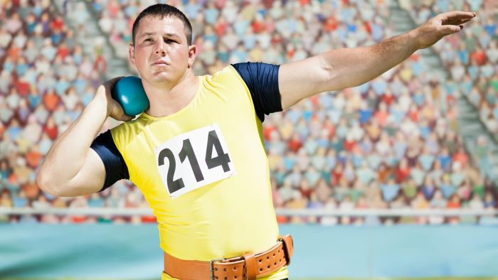 What Muscles Are Used to Throw a Shot Put?
