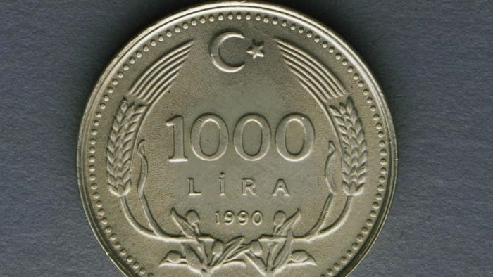 What is the name for a Turkish coin?
