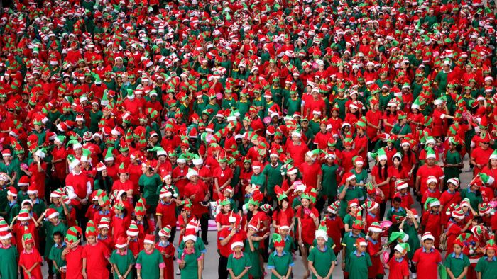 What Are the Names of the Christmas Elves?