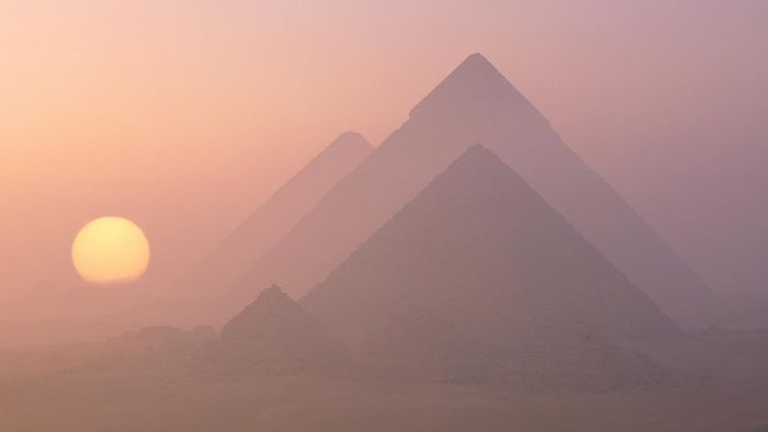 What Are the Names of the Three Pyramids in Giza?
