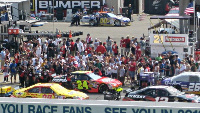What Is a NASCAR Pit Pass?