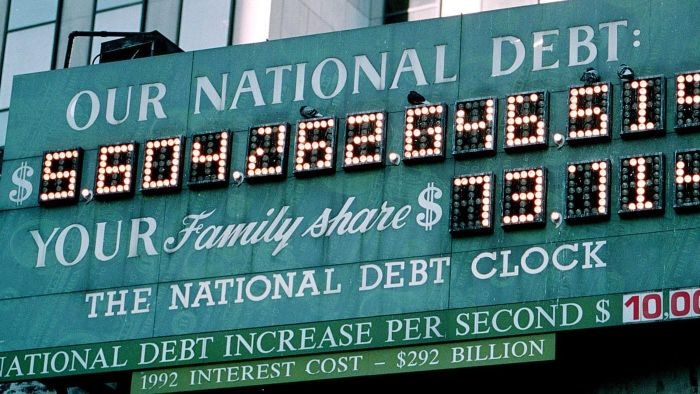 How Is National Debt Calculated?