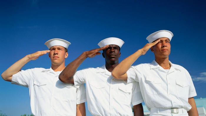 What Is the Navy Slogan?