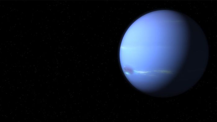 What does Neptune look like?